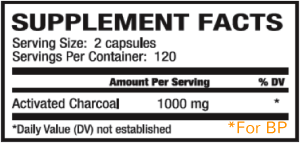 charcoal facts supplement