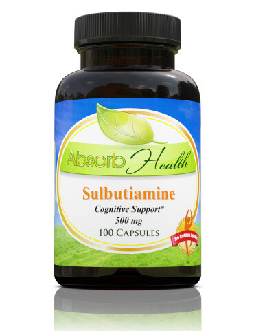 Buy Sulbutiamine Supplement
